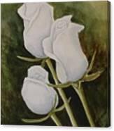 Lorettas Roses Canvas Print