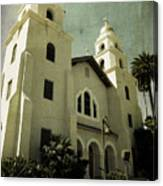 Beverly Hills Church Canvas Print