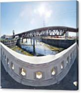 Los Angeles River Washington Avenue Bridge South Canvas Print