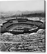 Los Angeles: Stadium, 1962 Canvas Print