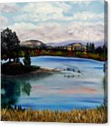 Los Gatos Lake Canvas Print