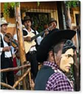 Los Historiantes De Apaneca 5 Canvas Print