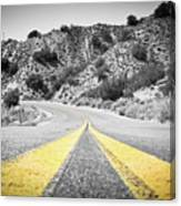 Los Padres Country Highway Canvas Print