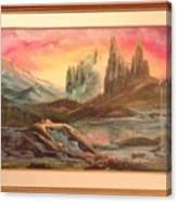 Los Picachos Canvas Print