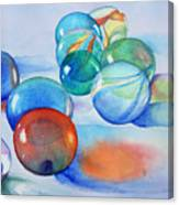 Lose Your Marbles Canvas Print