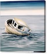 Lost At Sea Contd Canvas Print