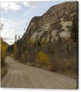 Lost Creek Road Canvas Print