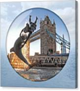 Lost In A Daydream - Floating On The Thames Canvas Print