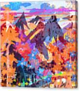 Lost In Colorado Canvas Print