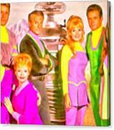 Lost In Space Team - Da Canvas Print