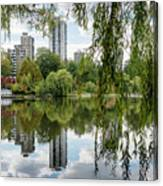 Lost Lagoon, Vancouver Canvas Print