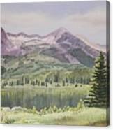 Lost Lake Colorado Canvas Print