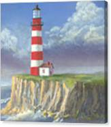 Lost Point Light Canvas Print