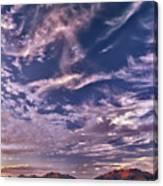 Lost River Sky Canvas Print