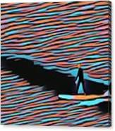 Lost Surfer Canvas Print