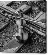 Lost Violin Canvas Print