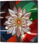 Lottus Buddha Canvas Print