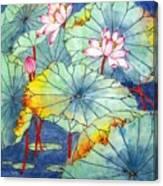 Lotus #2 Canvas Print