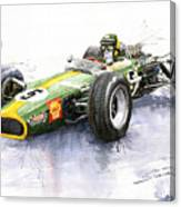 Lotus 49 Ford F1 Jim Clark Canvas Print