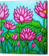 Lotus Bliss II Canvas Print