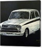Lotus Cortina Canvas Print