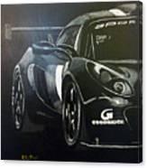 Lotus Exige Gt3 Side Canvas Print