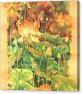 Lotus Field Canvas Print