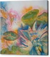 Lotus Flower Abstract Canvas Print