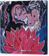 Lotus Love Canvas Print