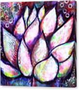Lotus Magic Canvas Print