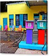 Loud Gas Pumps Canvas Print