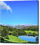 Loughrigg Tarn Canvas Print