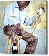 Louis Armstrong- Pops Canvas Print