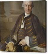Louis-gabriel Blanchet Paris 1705 - 1772   Portrait Of A Gentleman Canvas Print