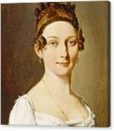 Louis-leopold Boilly - Portrait Of A Lady Canvas Print
