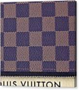 Louis Vuitton Mens Wallet Canvas Print