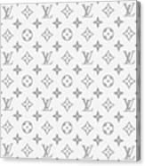 Louis Vuitton Pattern - Lv Pattern 14 - Fashion And Lifestyle Canvas Print