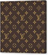 Louis Vuitton Texture Canvas Print