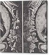 Louis Xiii And Anna D'austriche Canvas Print