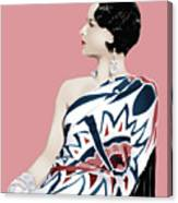 Louise Brooks In Hollywood Canvas Print