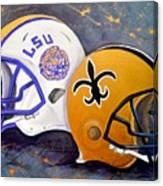 Louisiana Fan Canvas Print