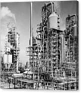 Louisiana: Oil Refinery Canvas Print