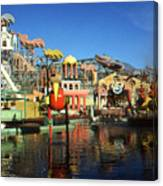 Louisiana Worlds Fair 1984 - New Orleans Photo Art Canvas Print