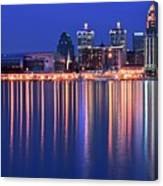 Louisville Lights Up Nicely Canvas Print