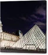 Louvre Museum 2 Art Canvas Print