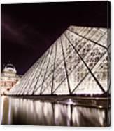 Louvre Museum 4 Art Canvas Print
