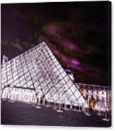 Louvre Museum 5 Art Canvas Print