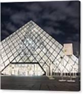 Louvre Museum Art Canvas Print