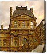 Louvre Reflection Canvas Print