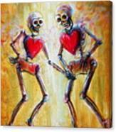 Love 2 Love Canvas Print
